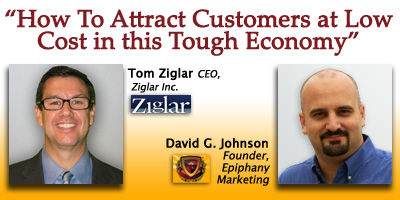 Webinar featuring Tom Ziglar and David G. Johnson