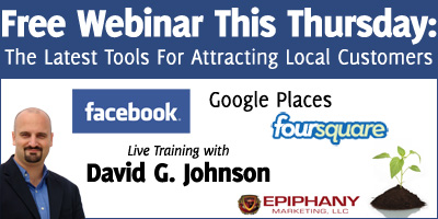 Free Webinar: The Latest Tools for Attracting Local Customers
