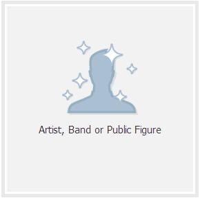 Facebook: Create a Public Figure Page