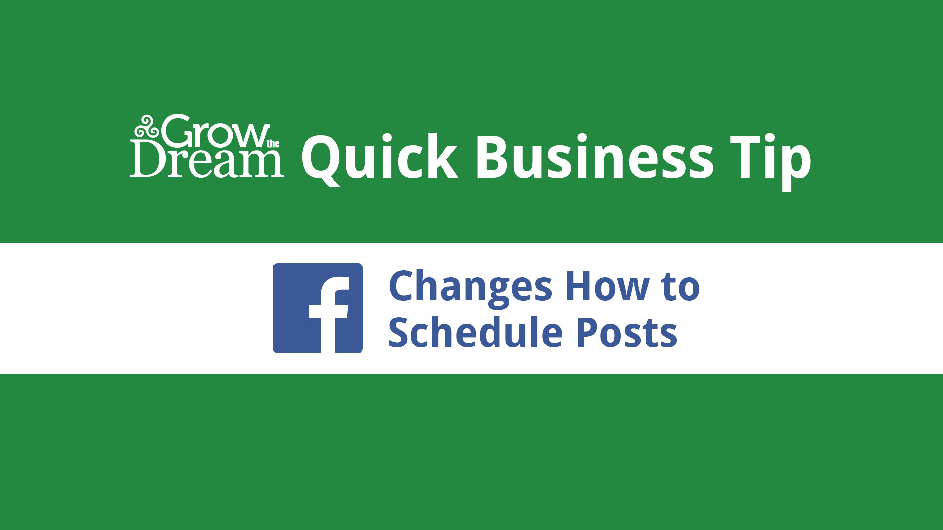 Facebook Changes How to Schedule Posts to Appear in the Future