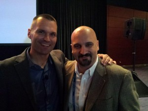 Marcus Sheridan with David G. Johnson at INBOUND 2015