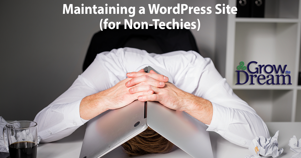 How to Maintain a WordPress Site (for Non-Techies)