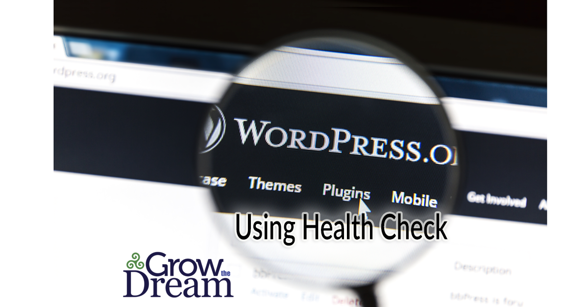 How to use the WordPress Health Check & Troubleshooting Plugin