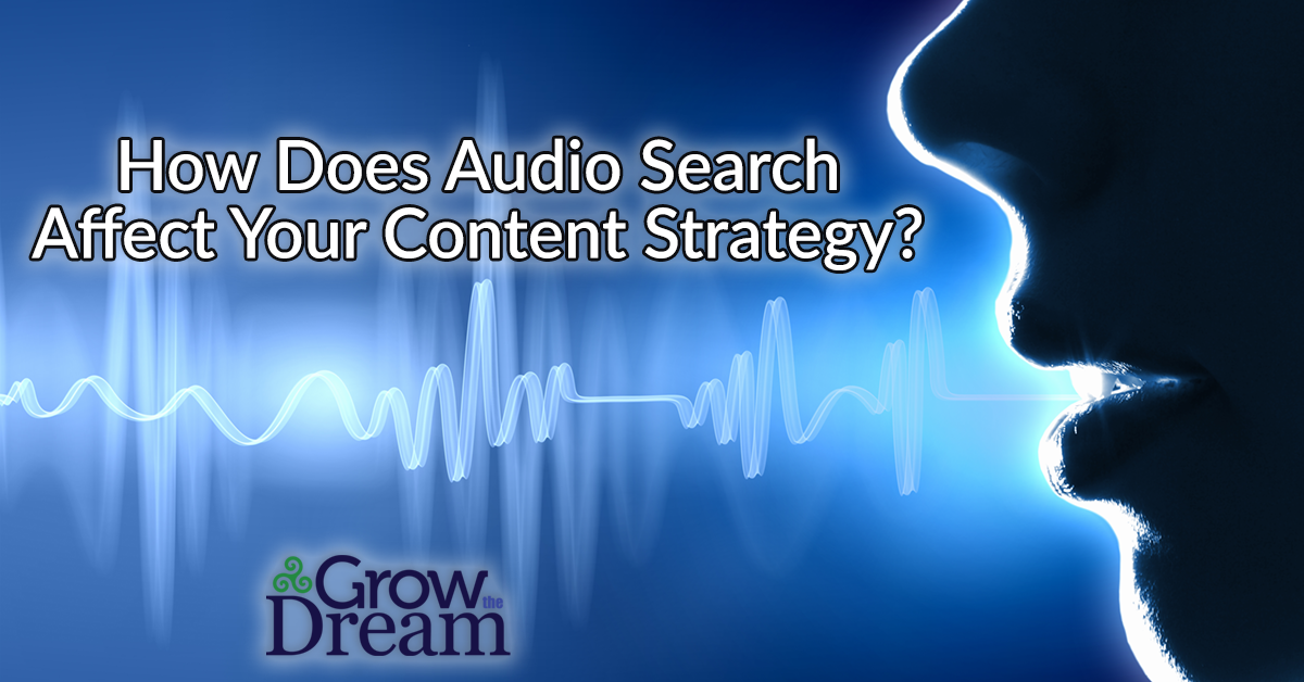 How does Audio Search Affect Your Content Strategy?