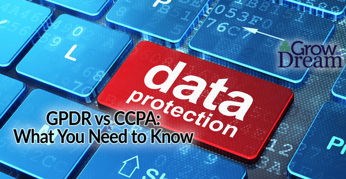 Data NOT for Sale? The Privacy Propositions of CCPA & GDPR