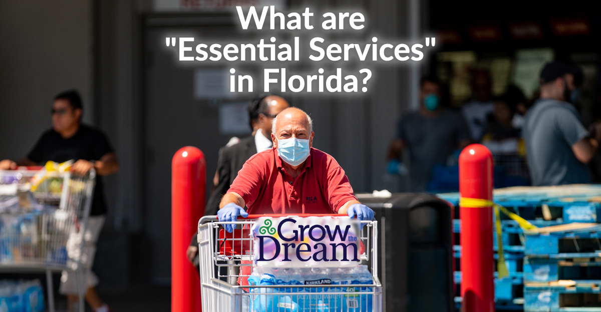 "Coronavirus: What are ""Essential Services"" in Florida?"