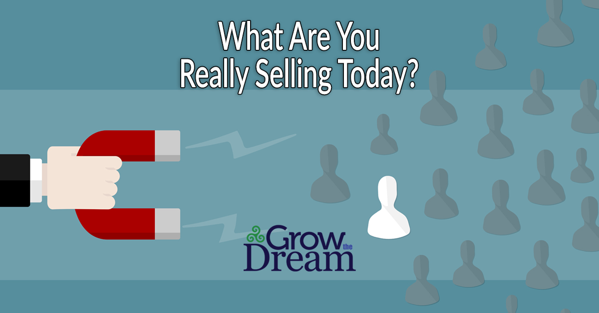 What Are You Really Selling Today?