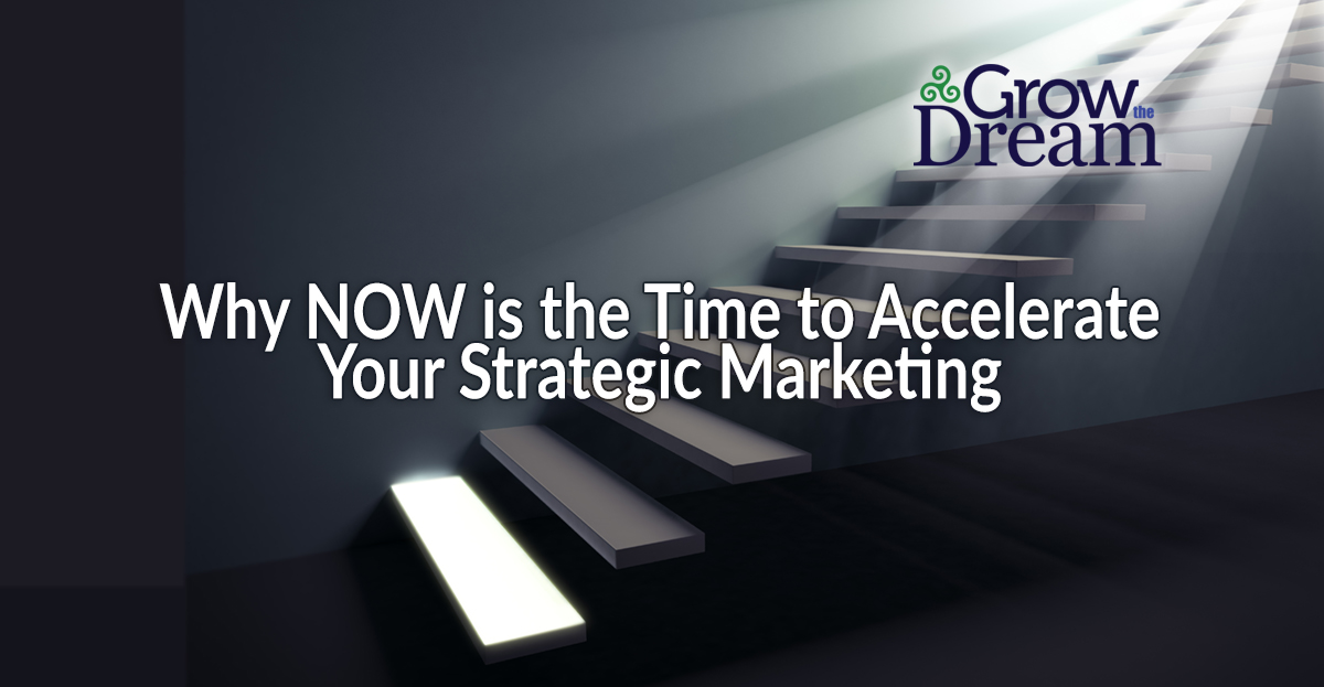 Not Crippled by Coronavirus – Why NOW is the Time to Accelerate Your Strategic Marketing